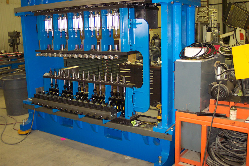 Automated assembly machine