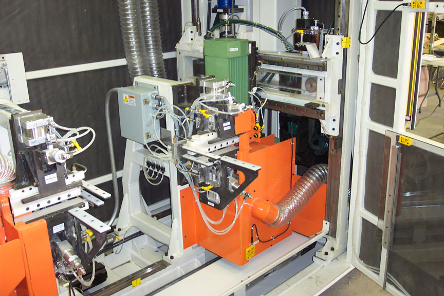 Single and double end tenoner machine