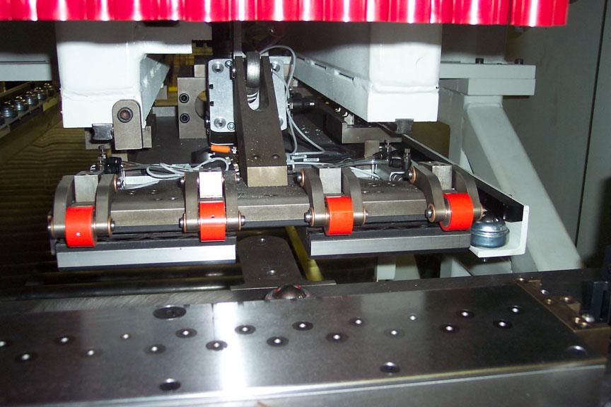 Punch press sheet tender and stacker