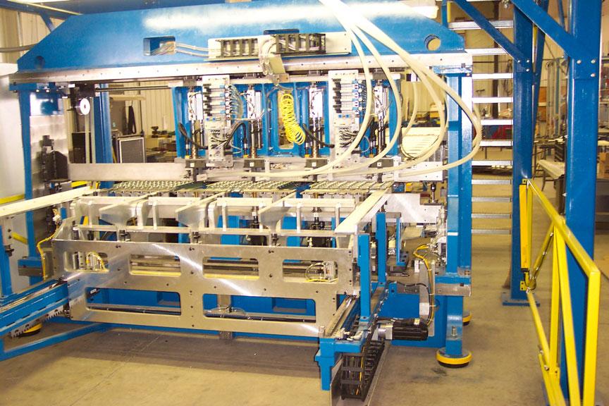 Large panel process assembly machine