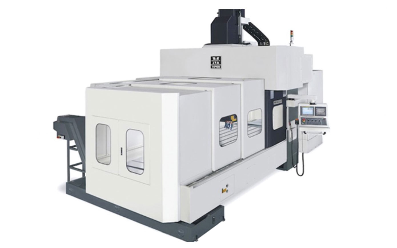 Mighty Viper CNC Bridge Mill offers powerful machine performance. Multi-purpose cutting, all around machining. High performance spindle. Excellent for cutting large die mold, and fine surfaces.
