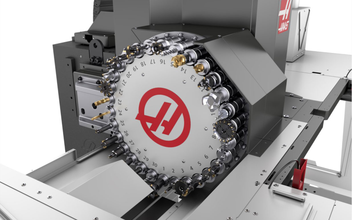 Tool Changer for Haas Vertical Mill
