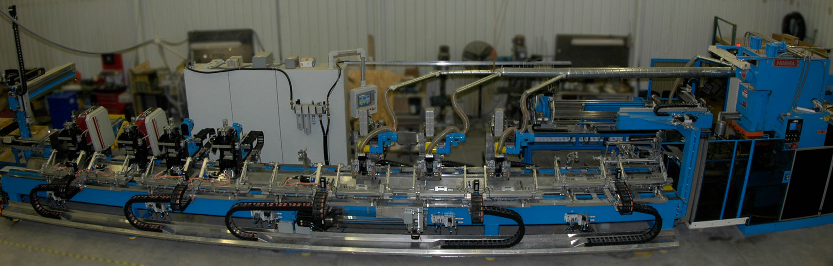 Large Scale, automated, multi-function, part fabrication machine