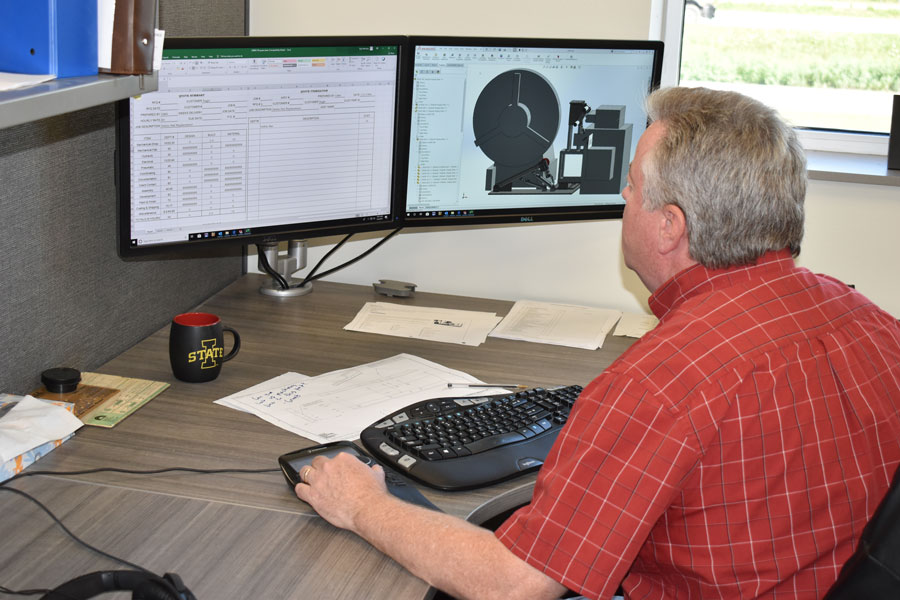 In house engineering & design services, CAD design
