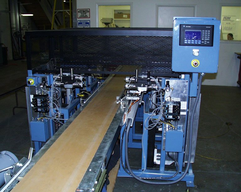 Automated conveyer driven packaging machine, computerized