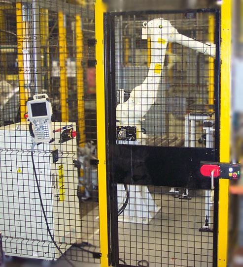 Robot, material stapling, material handling, machine tending